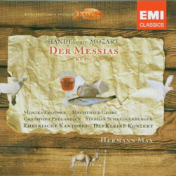 oratorien haendel mozart messias
